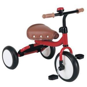 三輪車 Trike トライク三輪車 レッド M&M mimi 三輪車 自転車 バランスバイク ノンキャラ シンプル 遊具 おもちゃ 誕生日プレゼント 安全 安心 人気|pinkybabys