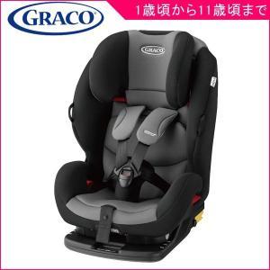 チャイルドシート G-LOCK ジーロック ブラックグレー グレコ GRACO ISOFIX ジュニアシート キッズ 子供 赤ちゃん 車 お出かけ 一部地域送料無料|pinkybabys