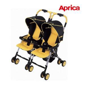 ベビーカー 2人乗り ネルッコベッド ツインズ サーモ ペルソナイエロー アップリカ aprica 赤ちゃん 1ヶ月から 双子 ツイン 子育て 育児 旅行 外出 送料無料 pinkybabys