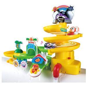 アガツマ アンパンマン NEWスプラッシュおふろスライダー PINOCCHIO ピノチオ オフロ お風呂 おふろ おもちゃ ベビー こども キッズ|pinkybabys