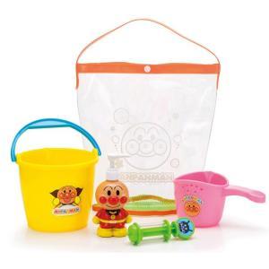 アガツマ アンパンマン おふろバケツセット PINOCCHIO ピノチオ オフロ お風呂 おふろ おもちゃ ベビー こども キッズ リニューアル|pinkybabys