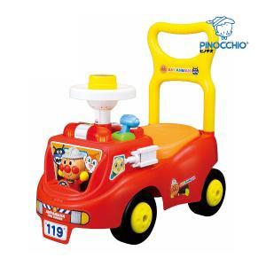 乗用玩具 アンパンマン じゃかじゃか消防車 アガツマ Anpanman 室内 三輪車 リニューアル おもちゃ プレゼント 人気|pinkybabys