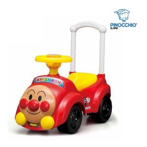 乗用玩具 アンパンマンカー メロディ付き 乗り物 乗物 おもちゃ キッズ 子ども 男の子 女の子 誕生日 ギフト お祝い プレゼント 室内 連休 帰省|pinkybabys