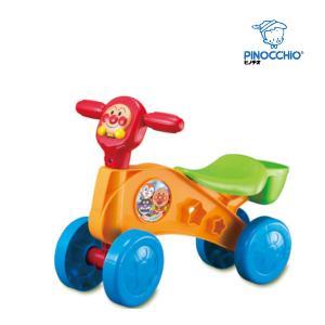 乗用玩具 アンパンマン ゴー ゴー バギー アガツマ ピノチオ 乗り物 おもちゃ 足けり キッズ 子供 子ども 男の子 女の子 誕生日 ギフト お祝い プレゼント 室内|pinkybabys
