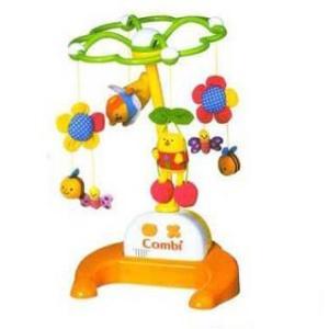 フロアメリー 森のすやすやメリー コンビ combi おもちゃ toys ギフト gift 床置きメリー ベッドメリー メリー 出産祝い 誕生日 知育玩具 発育 人気商品 pinkybabys