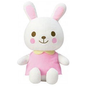 おもちゃ いつもいっしょおともだちうさちゃん コンビ combi toys ギフト 人形 ぬいぐるみ 教育 誕生日プレゼント 知育玩具 リトミック 安全 安心 人気商品|pinkybabys