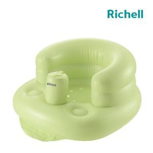 お風呂でお部屋で大活躍! 赤ちゃんにやさしい、やわらかチェア!    ●低座面重心で安定した座り心地...