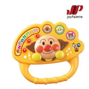 楽器玩具 ノリノリおんがく♪アンパンマンふりっこリズム ジョイパレット おもちゃ キッズ 子供 ばいきんまん ドキンちゃん 誕生日 ギフト プレゼント|pinkybabys