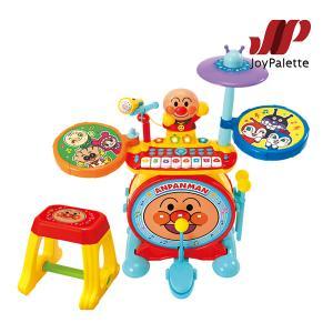 楽器玩具 ノリノリライブ BIG電子ドラム&キーボード ジョイパレット おもちゃ アンパンマン 音楽 キッズ 子ども 誕生日 プレゼント ギフト kids baby