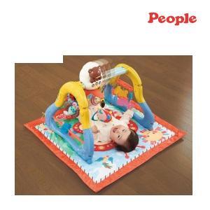 ベビージム うちの赤ちゃん世界一 身体&知能の発達サポートマット People ベビージム メリー 全身の知育 赤ちゃん 御出産御祝 ピープル pinkybabys