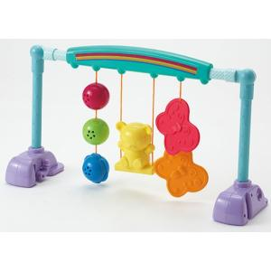 フロアメリー うちの赤ちゃん世界一 新生児から遊べるベビージム ピープル People おもちゃ toys ギフト プレイジム シンプル ノンキャラ良品 pinkybabys