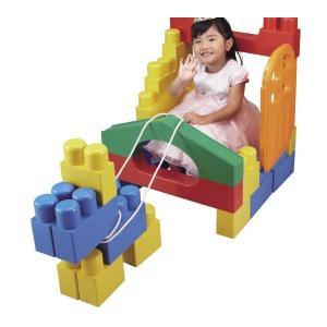 積木 1歳には全身でブロックプレミアム ピープル People おもちゃ ギフト 大型遊具 積み木 ブロック 誕生日プレゼント 知育玩具 人気商品 YG-112 クリスマス|pinkybabys