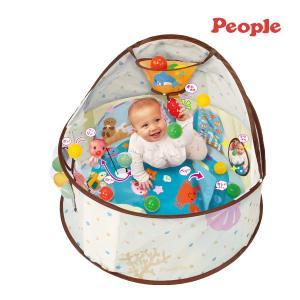 遊具 360° 知育ベビードーム ピープル ボールプール ボールテント おもちゃ 室内遊び ベビー キッズ 赤ちゃん 子供 誕生日 ギフト お祝い プレゼント 運動 部屋|pinkybabys