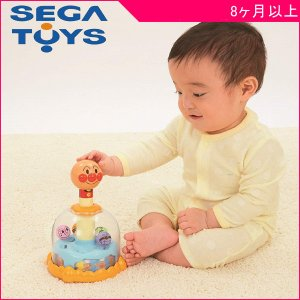 知育玩具 アンパンマン ポコポコはずむよ!ぐるぐるスピン おもちゃ 手遊び てあそび 指先 ベビー マタニティ 育児 誕生 ギフト お祝い プレゼント|pinkybabys