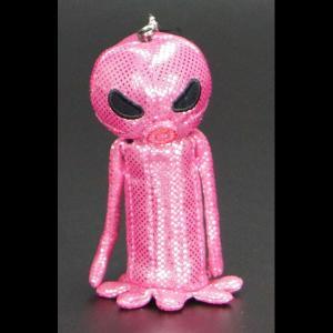 ハロウィン雑貨 スティックポーチ 火星人 ピンク LF-0608PI 友愛玩具 パーティ 仮装 イベント コスプレ カボチャ ドクロ pinkybabys