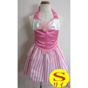 プリンセスエプロン C-S オーロラ風 Sサイズ FA-2903S Princess Dress Apron 友愛玩具 コスチューム パーティ ごっこ遊び 女の子  ハロウィン クリスマス 仮装|pinkybabys