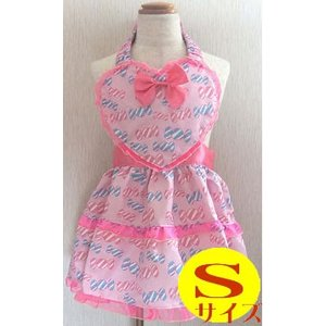 プリンセスエプロン キャンディ Sサイズ FA-2908S Princess Dress Apron 友愛玩具 コスチューム パーティ ごっこ遊び 女の子 ハロウィン クリスマス 仮装|pinkybabys
