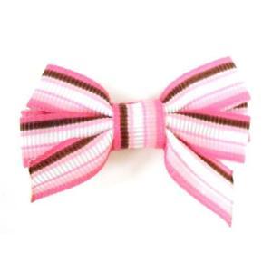 ◆ポイント10倍!!◆ パパジーノ エンジェルズリボン シック AR-B006 ヘアクリップ アクセサリー 髪飾り パーティ 結婚式 発表会 angel ribbon 子供用* pinkybabys