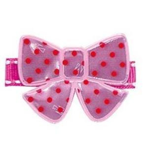 ヘアアクセサリー エンジェルズリボン・リフレクタークリップ AR-REF001 リボン スタイ ホルダー お食事 離乳食 angel ribbon パパジーノ ゆうパケットOK baby pinkybabys
