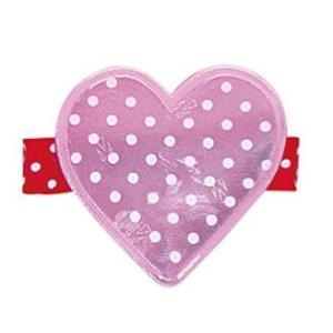 ヘアアクセサリー エンジェルズリボン・リフレクタークリップ AR-REF002 ハート スタイ ホルダー お食事 離乳食 angel ribbon パパジーノ ゆうパケットOK baby pinkybabys