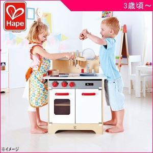 ままごと E3152 はじめてのキッチン Hape ハペ おもちゃ 木製玩具 ごっこ遊び 誕生日 お祝い ギフト プレゼント 一部地域送料無料|pinkybabys
