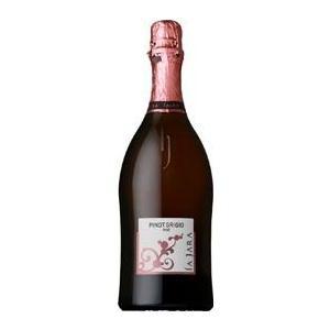 ピノ グリージョ ロゼ スプマンテ ブリュット NV ラ ジャラ 750ml スパークリングワイン イタリアワイン ヴェネト|pinotnoirwine