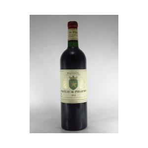 バンドール  ルージュ 2016 シャトー ド ピバルノン 750ml 赤ワイン フランス プロヴァンス|pinotnoirwine