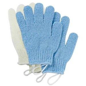 この「浴用泡立ちグローブ」は、 肌ざわりは「かため」で心地よい刺激感のある ナイロン素材の浴用手袋型...