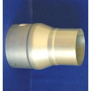 クリモトスパイラルダクト(亜鉛めっき)片落管(レジューサー)φ200×φ175 【梱包なし】|pipeshop-y