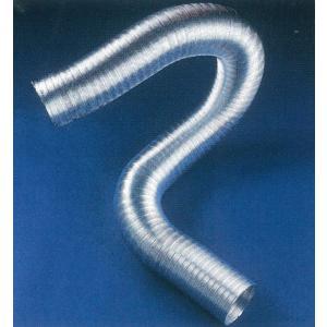 クリモトアルミフレキ(コンパクト)Sタイプφ300 長さ1m 【梱包あり】|pipeshop-y