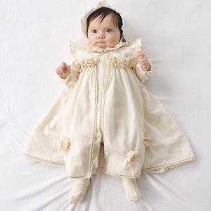 Amorosa mamma 天使の糸 ローズのセレモニードレス 3点セット 女の子 出産祝い  オー...