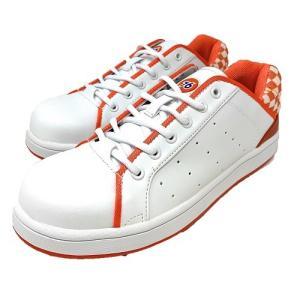 安全靴 Union 76 Lubricants メンズ カジュアル WHT/ORG 76-3035-...