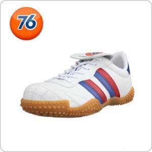 安全靴 Union 76 Lubricants メンズ カジュアル ホワイトブルー 76-177-0...