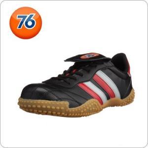 安全靴 Union 76 Lubricants メンズ カジュアル ブラック レッド 76-177-...