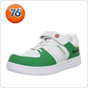 安全靴 Union 76 Lubricants メンズ カジュアル ホワイト /グリーン 76-20...