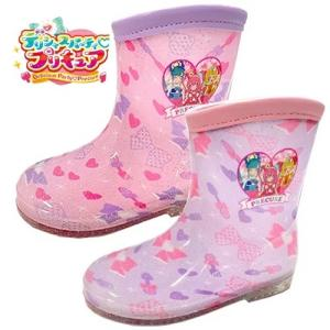 HUGっとプリキュア キッズ レインブーツ 5071 幼稚園 小学生 女の子 子ども 子供 こども キッズシューズ 長靴 雨具 靴 子供靴の画像