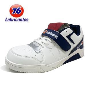 安全靴 Union 76 Lubricants メンズ カジュアル ホワイト 76-3023-02 ...