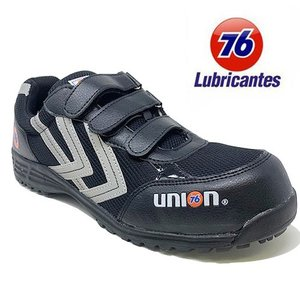 安全靴 Union 76 Lubricants メンズ カジュアル ブラック 76-3031-01 ...
