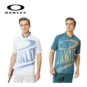 【 オークリー 】メンズ ゴルフ シャツ 半袖ポロ 434357 Oakley Logo Polo |piratesflag-cic