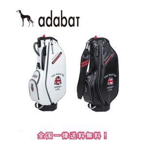 【 アダバット 】 ABC298S アダバット キャディバッグ  軽量モデル adabat (ポイント10倍)|piratesflag-cic