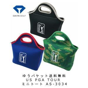 【US PGA TOUR】 ミニトート AS-3034 (全3色) 【ゆうパケット送料無料】|piratesflag-cic