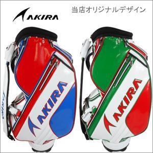 【アキラ】 当店オリジナル コラボ キャディバッグ ネームプレート刻印サービス /AKIRA|piratesflag-cic