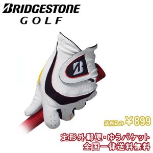 ブリヂストン ゴルフ グローブ GLG44J  SOFT GRIP ソフト グリップ(合成皮革×天然...