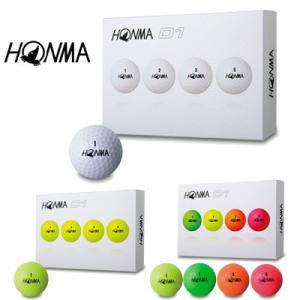 【 本間ゴルフ 】2018年モデル HONMA  NEW D1 ゴルフボール 【 HONMA GOLF 】 piratesflag-cic