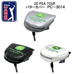 【送料無料】US PGA TOURパターカバー (マレットタイプ)  JOHN DEERE CLASSIC  PC-3014|piratesflag-cic