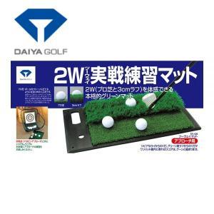 【送料無料】ダイヤ プロ芝を開発、打ってみてツーウエイマット TR-408  ゴルフ 練習器具|piratesflag-cic