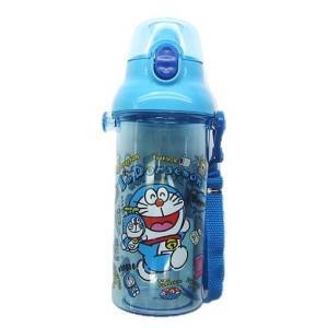 ◇ キャラクター 水筒 ドラえもん ( ぬいぐるみいっぱい クリア ブルー ) 480ml (ワンタッチオープン 直飲みタイプ ) ( I'm Doraemon アイム ドラえもん ) pirol