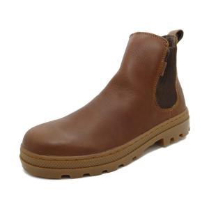 スニーカー パラディウム PALLADIUM パラボスチェルシー ブラウン メンズ シューズ 靴 18FA|pistacchio
