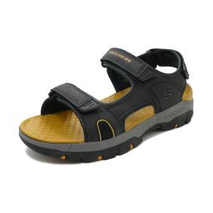 スニーカー スケッチャーズ SKECHERS TRESMEN-HIRANO ブラック 204106-BLK メンズ シューズ 靴 20SS|pistacchio