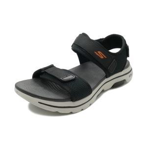スニーカー スケッチャーズ SKECHERS ゴーウォーク5 ブラック/オレンジ 229003-BKOR メンズ シューズ 靴 20SS|pistacchio